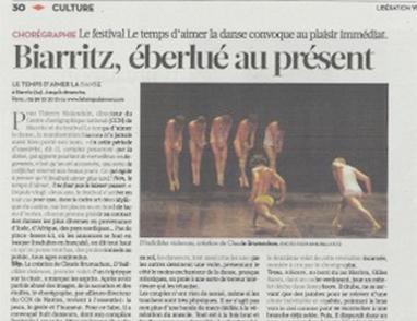 Biarritz, éberlué au présent