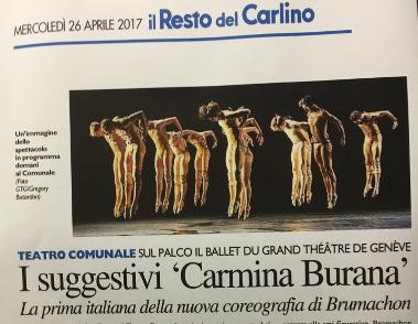 Carmina Burana-Italie