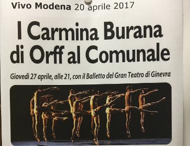 Carmina Burana à Modena
